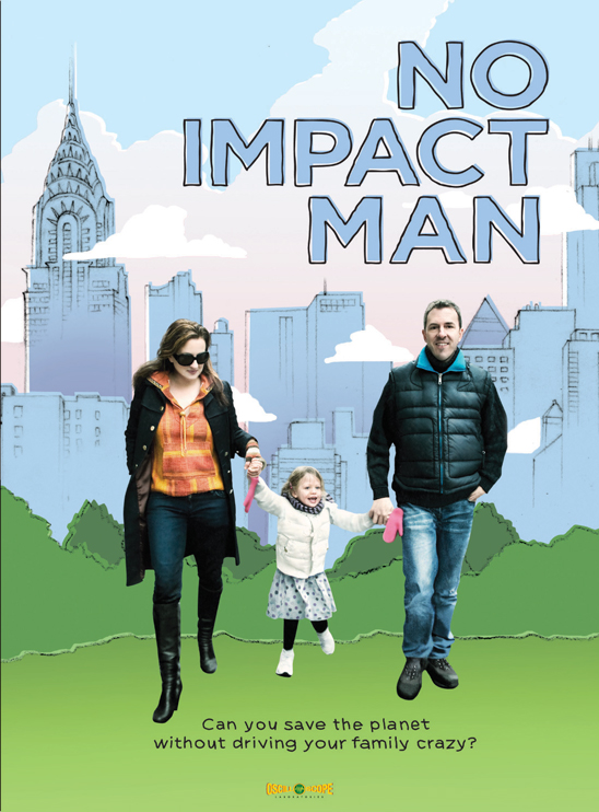 "Meaningful Movies : Sustainable Ballard Presents ""No Impact Man"" @ Royal Drummer Cafe 